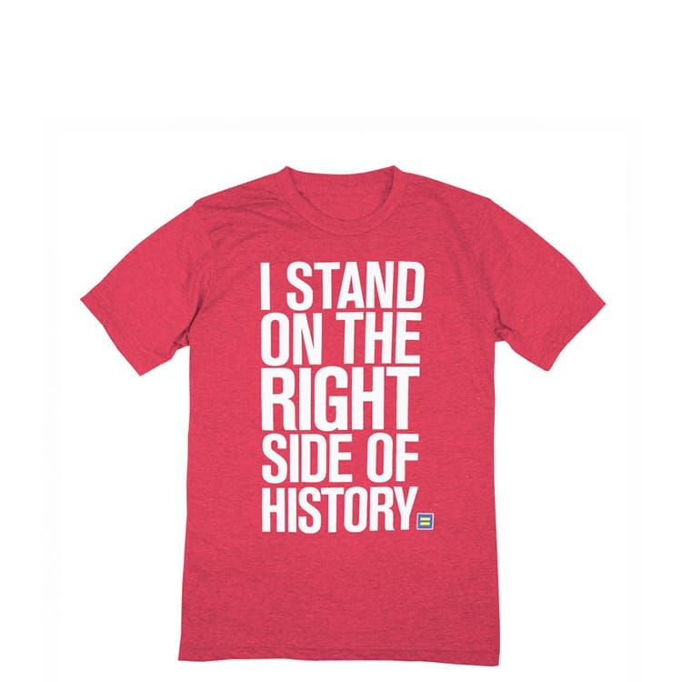 Right Side of History T-Shirt | HRC